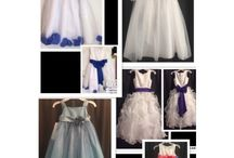 Flower Girl Dresses / Flower Girl Dresses  We specialize in Formals & Bridal Gowns and accessories Designer Consigner Boutique 6329 S. Mooresville Road Indianapolis, IN 46221 317-856-6370 317-979-9628