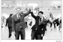 scarlet real weddings | john & paul's epic new york nuptials