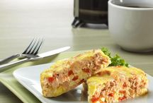 Seafood for Breakfast / These recipes provide a new way to look at breakfast
