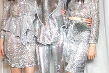 HOLOGRAPHIC, IRIDESCENT, SILVER