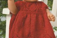 Babyborn knit and sewing