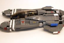lego custom space craft & ships