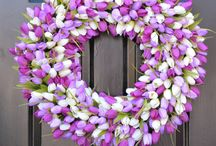 Welcome Spring! / Spring has never been more welcome than now!  There are so many fun ways to decorate - let's get started!