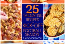Football and Tailgating Season / Find all of the tailgating essentials here! Recipes, games, and decor.