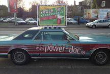 Werbebanner auf Fahrzeugen / http://www.werbebanner24.de/angebote