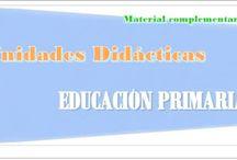Unidades Didácticas / Material complementario para el desarrollo de las Unidades Didácticas de  Educación Primaria y Secundaria