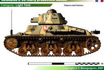 WW II FRANCE MILITARY LAND VEHICLES