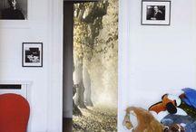 mural para puertas