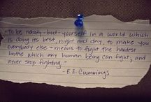 Quotes I Love / by Emily Scheidel