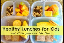 Food: Kid lunches / by Nicole McKenzie