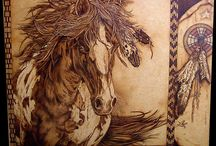 Pyrography Art / by Lisa Beltz