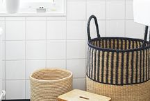basket & rope / basket rope