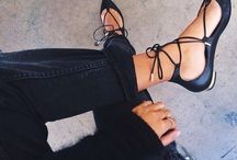 Strapy flats