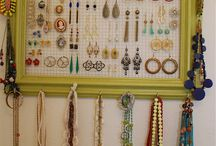 DIY Jewerly Organizers