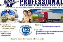 Professional packers movers delhi