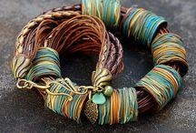 Tube Jewelry-Polymer Clay