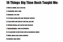 BIG TIME RUSH ❤