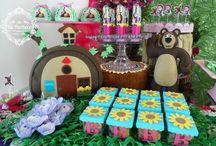 INSPIRAÇÃO - Festa Masha e o Urso
