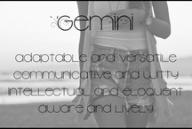 Gemini / by Michelle Gonzalez