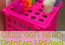 Classroom Hacks / Easy DIY HACKS to make your teacher life easy!