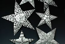 zentangle stars