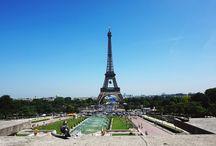 I traveled to: Paris