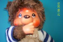 Monchichi bear,teddy