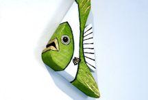 Fish wood