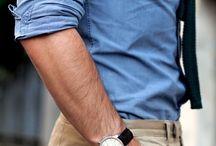 H i s  S t y l e / His scent | His shiny shoes | His golden watch | His smart collar shirts |