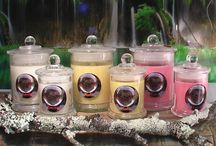 Amanda Hall Psychic Candle Range / Hand poured 100% Natural Eco Soy candles with love. Intent - Purpose - Direction designed by Amanda Hall Psychic