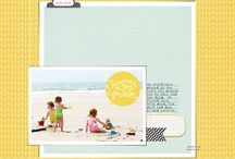 Inspirational scrapbook pages