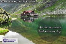 Romanian Sayings from RomanianDentalTorusim / Starting today we will prepare a weekly distributed collection of Romanian #sayings which we hope will contribute to your enthusiastic wish to visit the beautiful country of #Romania. Find us at #RomanianSayings