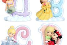 ABC PRECIOUS MOMENTS DISNEY / Abecedario de Precious Moments Disney