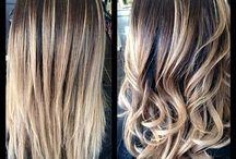 Hair styling!
