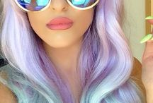 color / hair color