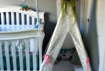 """Teepee Nursery / Featuring our teepees """"in the wild,"""" i.e. how our customers have set up our teepees in their homes."""