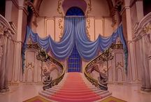 Beauty and the beast wedding ballroom