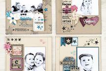 PAGES / Pages de scrap coup de coeur