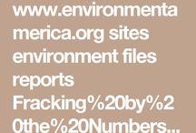 Petroleum Industry & Fracking
