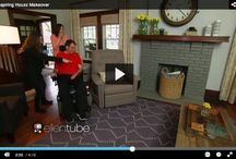 Ellen Degeneres | Kouboo Decor / We are so proud to be a part of this fabulous makeover with Houzz.  Matt and Jess have an incredible family and an amazing spirit. Ellen teamed up with Houzz to give them a tremendous surprise.