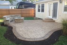 Cool Concrete Patios /  Some cool patio areas