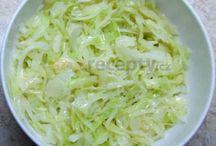 Recepty - zeleninové šaláty