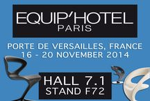 Equip Hotel Paris 2014 / Equip'Hotel Paris, from 16 to 20 November 2014. The international hospitality market place for the most important players in the hospitality industry.  Infiniti Designa at PAVILION 7.1, STAND F72
