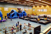 Evenementen / Hier foto's van verschillende evenementen waar Set in Motion attracties had liggen!