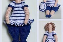 Doll crochet- tricot / by Amanda Fairy