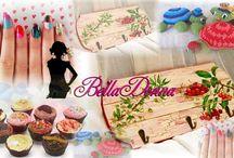http://donnelanostrapassione.altervista.org/ / nails, cucina, uncinetto, decoupage