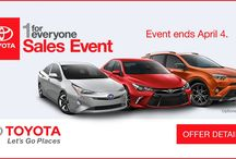 Toyota Special Offers