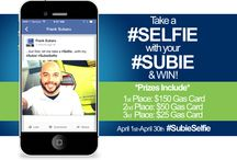 #SubieSelfie / Take a #Selfie with your #Subie & you could win $150, $50 or $25 gas card! https://a.pgtb.me/VzHs1n