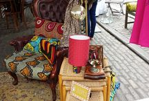 Corporate events : African summer festival in London / Brief : Create an engaging space for a high end fashion clients with luxury African brands in Covent garden Piazza for the African Centre Summer festival