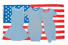 Red, White & Blue / Americana-inspired style for Memorial Day, July 4th, Labor Day and more!